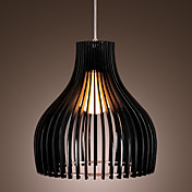 60W Comtemporary Acrylic Pendant Light with 1 Light 3 - Color selection