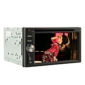 2 Din 6.2-inch TFT Screen In-Dash Car DVD Player With Navigation-Read GPS,Bluetooth,iPod-Input,RDS