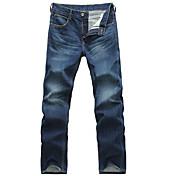 Men's Casual Straight  Denim Jeans