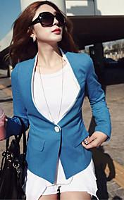Women's One Button Slim Blazer